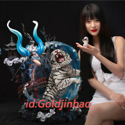 Core Play The White Tiger Goddess Resin Statue Pre-order 76cm Fit For 1/6 Scale