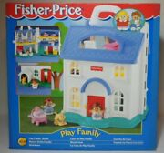 Fisher Price Vtg 1996 Play Family House European Czech Boxed Mib Unused