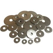 Penny Repair Washers M4 M5 M6 M8 M10 M12 M16 For A2 Stainless Steel Bolts Screws