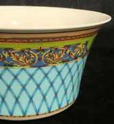 Versace Rosenthal Russian Dream Faberge Inspired Serving Or Vegetable Bowl