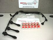 Toyota Avalon Camry Solara Sienna Spark Plugs Wires And 3 Coil Packs Genuine Oe