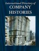 International Directory Of Company Histories [hardcover] Pederson, Jay P.
