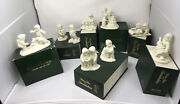 Lot Of 7 Pieces Dept. 56 Winter Tales Of The Snowbabies Collection With Boxes