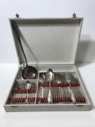 Lot Of 37 Vintage French Silverplate Silverware 84g Poinandccedilon S A Mark Circa 1900