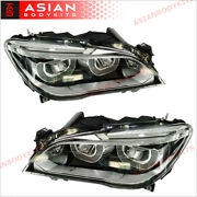 Led Headlights Assembly For Bmw 7 Series F01 F02 09 - 16 Upgrade Facelift Style