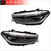 Led Headlights Assembly For Bmw 5 Series G30 G31 2016 - 2020 Upgrade Style