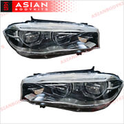 Led Headlights Assembly For Bmw X5 F15 2014 - 2018 Upgrade Style