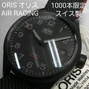 Oris Air Racing 1000 Limited Model Swiss Made Menand039s Watch Sapphire Glass Black