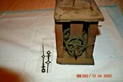 Antique Wall Clock For Project Or Parts