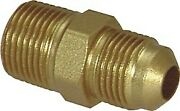 Lawson 5178 Air Line Connector Brass Sae 45anddeg Flare 1/4 X 1/4 Pack Of 8