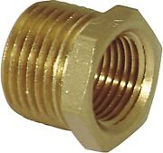Lawson 5284 Pipe Bushing Brass 3/8-18 X 1/4-18 Pack Of 8