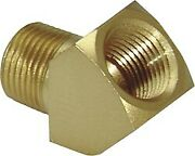 Lawson 5314 Pipe Street Elbow Brass 45anddeg 3/8-18 X 3/8-18 Pack Of 4