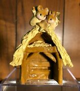 Wee Forest Folk Chris-mouse Pageant Nativity, Vintage 1984-87. All Signed.