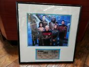 Star Trek - The Next Generation Complete Cast Signed Autograph 1282 Of 2500