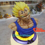 Dragon Ball Vegeta Bust Model 1/1 Scale Painted Statue Resin Figure In Stock New