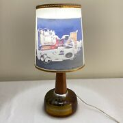 Vintage Mid Century Retro Boeing Collectible Atomic Age Engineer Lamp Airplane