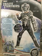 Halloween Costume Transformers Dark Side Of The Moon {size M 7-8} Ironhide