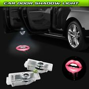 Car Door Hot Sexys Girls Lip Logo Projector Laser Ghost Shadow Light Fit For Bmw