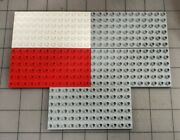 Lego Duplo Base Plate 6x12 12x6 Lot Of 5 Replacements Grey White Red