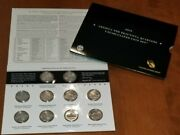 2010 America The Beautiful Quarters Uncirculated Coin Set