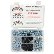 Aftermarket Complete Plastics Body Bolts Fit For Honda Cr250 Cr480 Cr500 Cr450