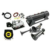 17-c Raptor Supercrew Train Horn And Onboard Air System - 730/6450rc
