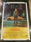 Taxi Driver Original 1976 Movie Poster 40 X 60 C8.5 Very Fine To Near Mint