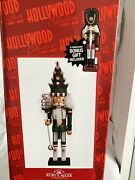 Hollywood Collection Christmas Tree Hat Nutcracker 17.5h