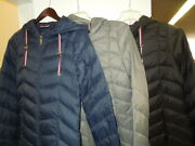 New-slightly Damaged Women's Mid Length Packable Jacket 69.95