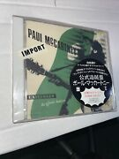 Paul Mccartney Unplugged The Official Bootleg Japan Cd Tocp-6713 New S8773