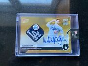 On-card Auto-relic To 1 - Walker Buehler - Mlb Topps Now Card 459f Ws Champ