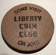Liberty Coin Club St Paul Mn Wooden Nickel Free Shipping