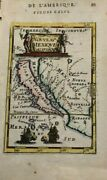 New Mexico California As An Island 1683 Alain Manesson Mallet Antique Map