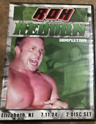 Roh Reborn Completion 2004 Dvd Ring Of Honor Wwe Aew Nxt Pwg Tna Ecw Wcw