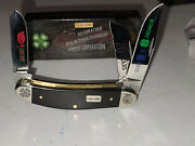 New In Box 2015 Case Xx 4-h Coop Ffa Pocket Knife 70 Years New Old Stock