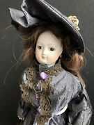 """Vintage 16"""" French Reproduction Antique Bisque French Fashion Doll"""