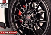 New Oem Toyota Avalon And Camry 19and039and039 Trd Matte Black Alloy Wheels 5-piece Set