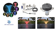 New 2,3,4, And 6 Color Changing Fountain Light Kits Diy Kit W/ Remote Control