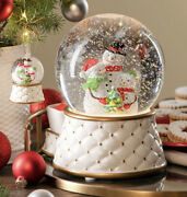 Scentsy Snow Globe Warmer With Matching Ornament - New In Box