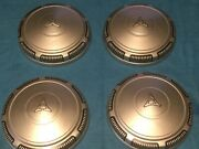 Plymouth Dodge Chrysler Police Dog Dish Hubcaps Wheel Covers Charger Mopar Rims