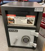 Mesa Security Safe Model Mfl2014e Depository W/electronic Lock, New Pick Up Only
