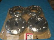 And03905-16 Ford F250 / F350 4x4 Chrome Wheel Center Caps Set 4 New Unopened