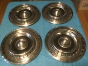 Vintage 1950and039s 1960and039s Chrysler Dodge Plymouth Hubcaps Wheel Covers Hub Caps 14andrdquo