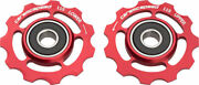 Ceramicspeed Shimano 11-speed Pulley Wheels Alloy, Red