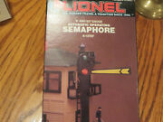 Lionel Trains- Automatic Operating Semaphore- New W/outer Box
