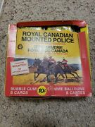 1974 O-pee-chee Royal Canadian Mounted Police Display Box With 12 Unopened Packs
