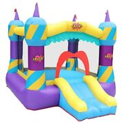Magic Bounce House Castle Inflatable Bouncer Childand039s Jumper Slide With Blower