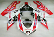 Fairing Injection Body Kit Fit For Ducati 1098 1198 848 2007-2012 Abs Mold A19