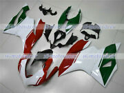 White Red Green Injection Body Kit Fairing Fit For 2012-2014 Ducati 1199 Abs 14