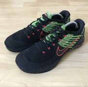 Nike Metcon Dsx Flyknit Mens Sneakers Black Racer Pink Volt 852930-014 Size 11